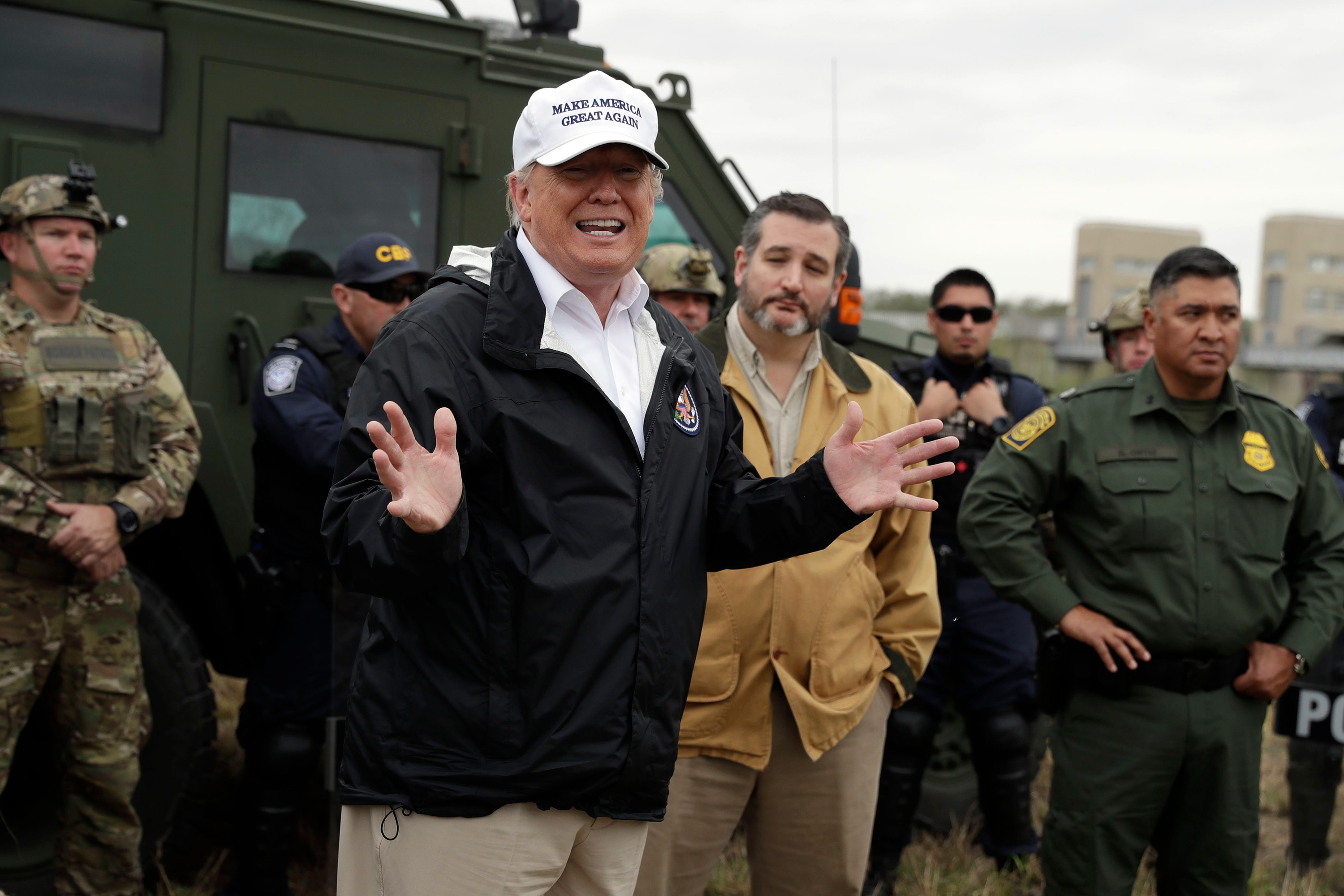 Now Trump Is Planning to Use Disaster Relief Funding to Pay for the Wall