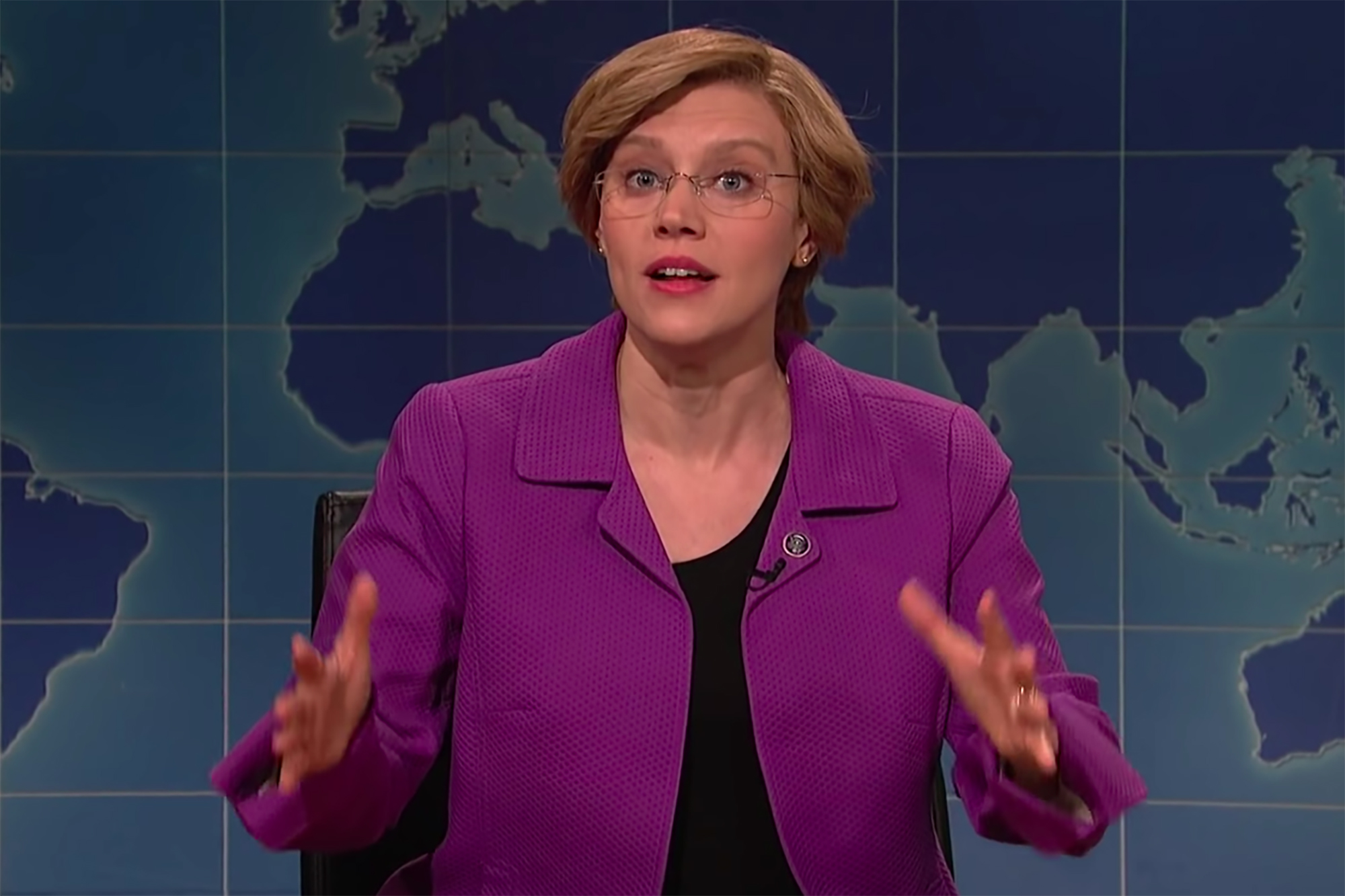 SNL's Elizabeth Warren Is America's Prostate Exam: 'You Need One or You'll Die'