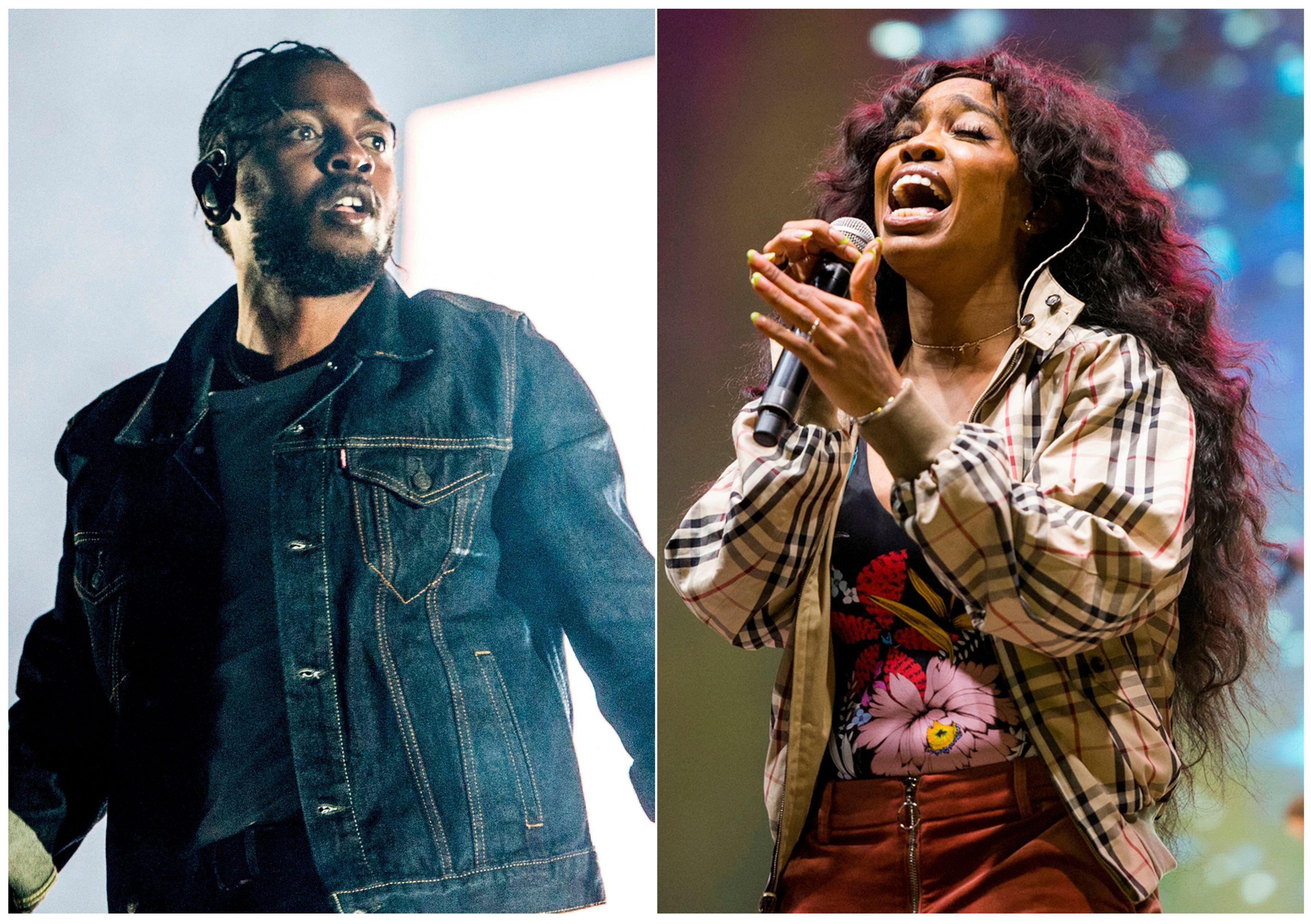 Kendrick Lamar, SZA Will Not Perform 'All the Stars' at 2019 Oscars