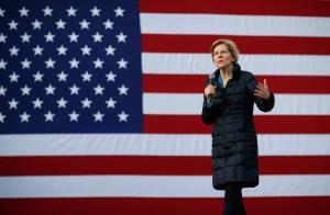 Presidential candidate Sen. Elizabeth Warren, D-Mass., speaks at an organizing event, in Las VegasElection 2020 Elizabeth Warren, Las Vegas, USA - 17 Feb 2019