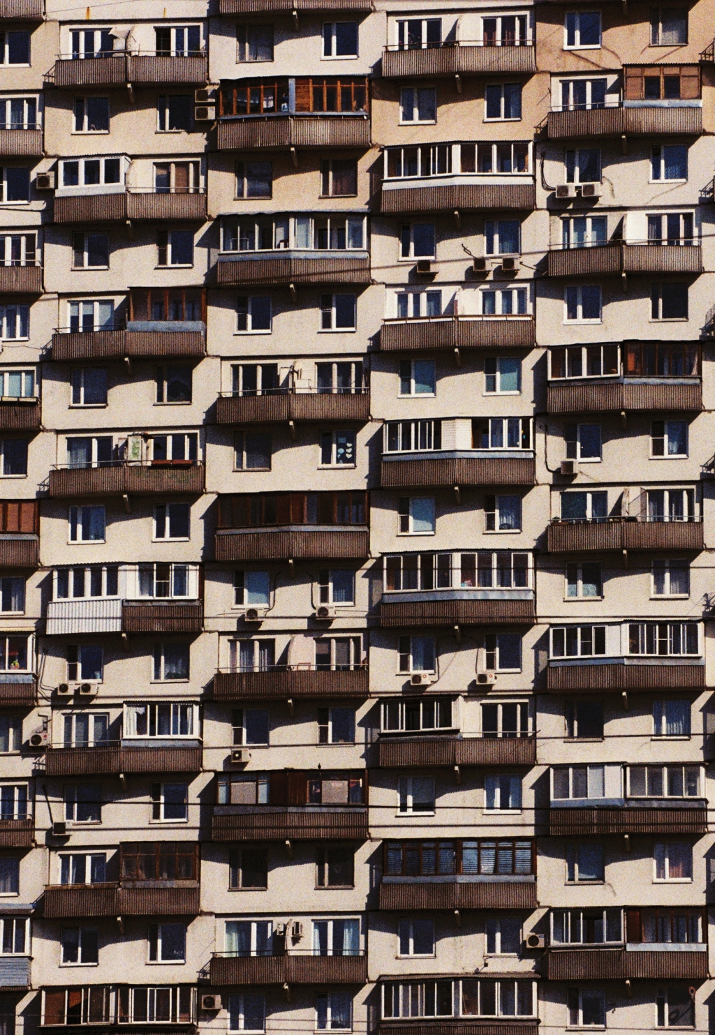 """Archetecture is just amazing in Moscow,"" says Boogie. ""It's just this brutalist, socialist architecture. I love it. I could just do a book of these buildings."""