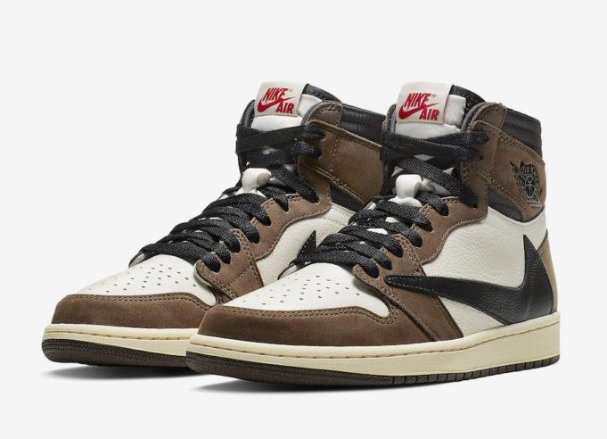 Travis Scott Jordan 1 Sneakers: Nike