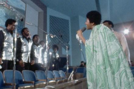 Aretha Franklin's 1972 Gospel Triumph 'Amazing Grace' Coming