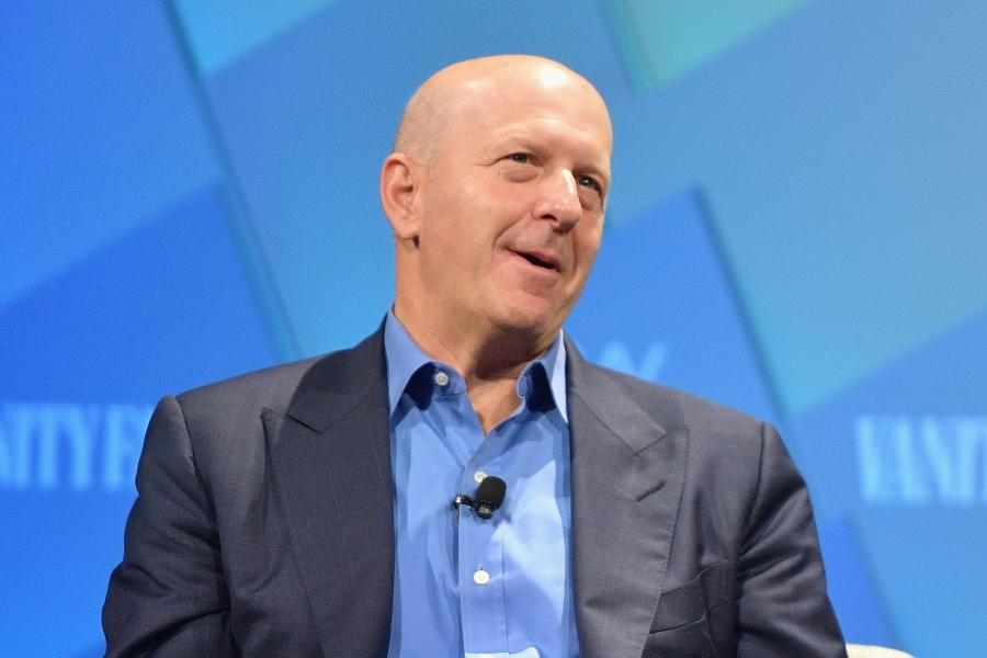 BEVERLY HILLS, CA - OCTOBER 10:  C.E.O. at Goldman Sachs, David Solomon speaks onstage at Day 2 of the Vanity Fair New Establishment Summit 2018 at The Wallis Annenberg Center for the Performing Arts on October 10, 2018 in Beverly Hills, California.  (Photo by Matt Winkelmeyer/Getty Images)