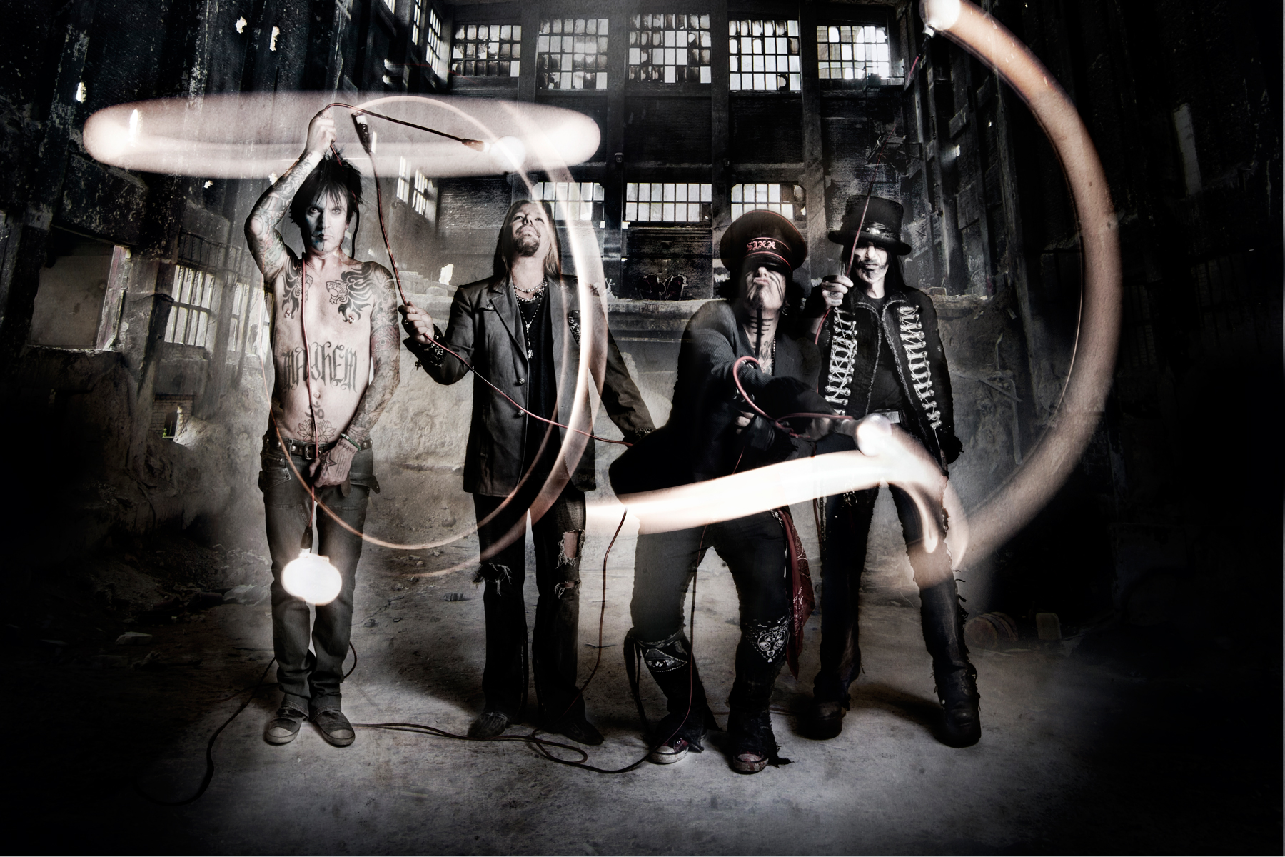 Motley Crue Discuss 'The Dirt' Soundtrack Songs, 'Like a