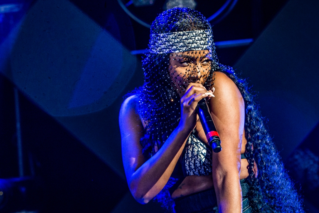 Kash Doll performs at the Fillmore Miami on February 19th, 2019.
