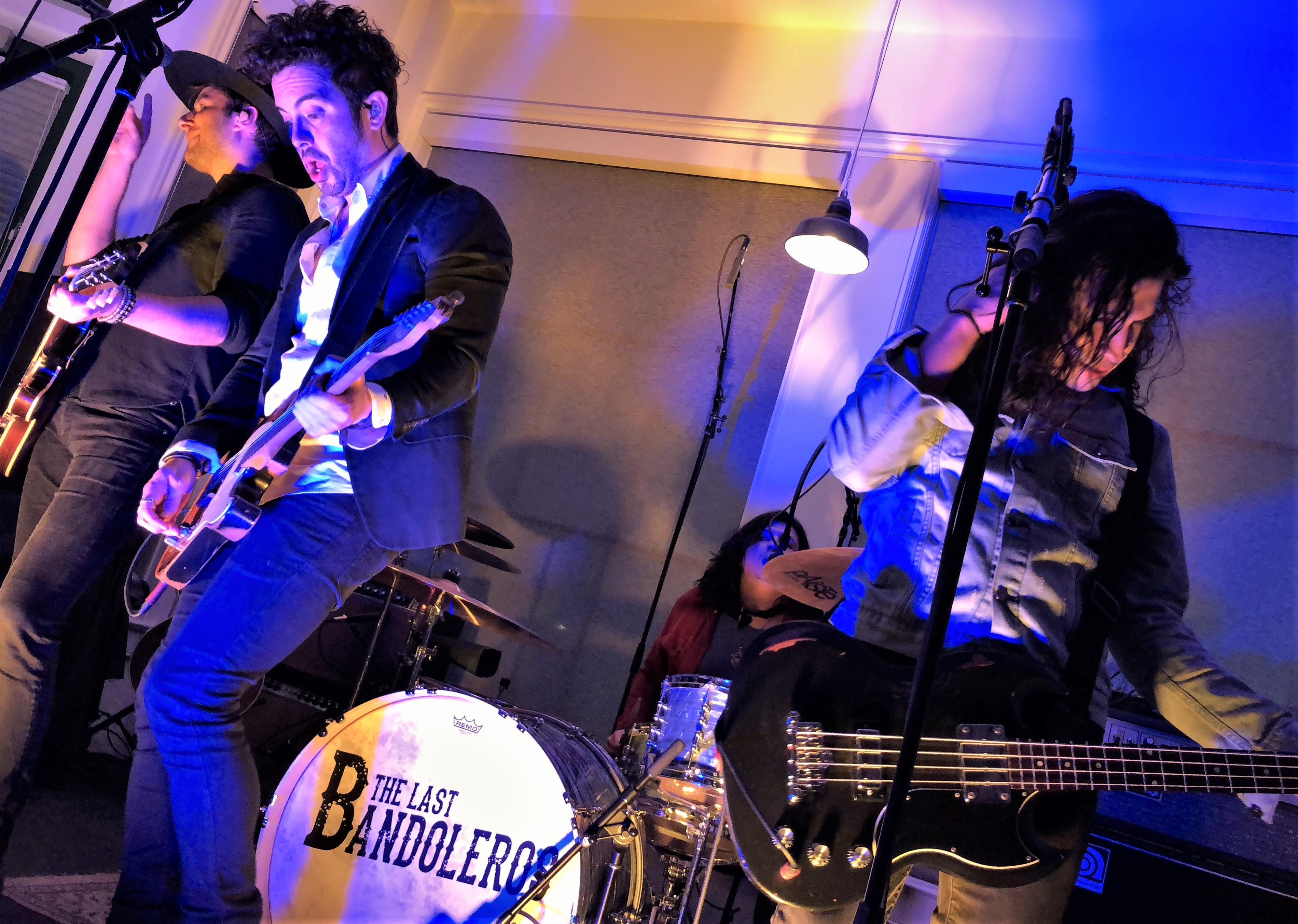 Hear the Last Bandoleros' Spanglish Love Song 'Enamorado'
