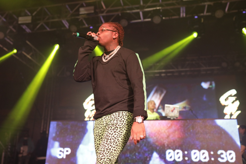 Gunna performs his set two days after the release of his new single, One Call