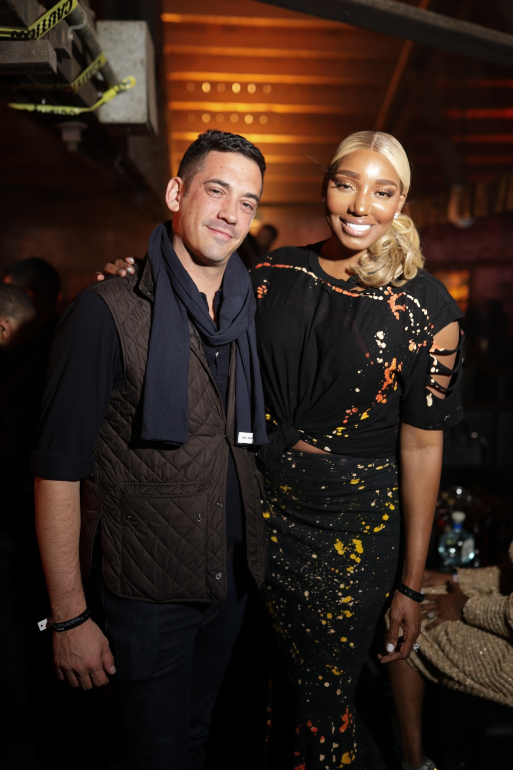 LDV Hospitality's John Meadow hangs out with Real Housewives of Atlanta's Nene Leakes