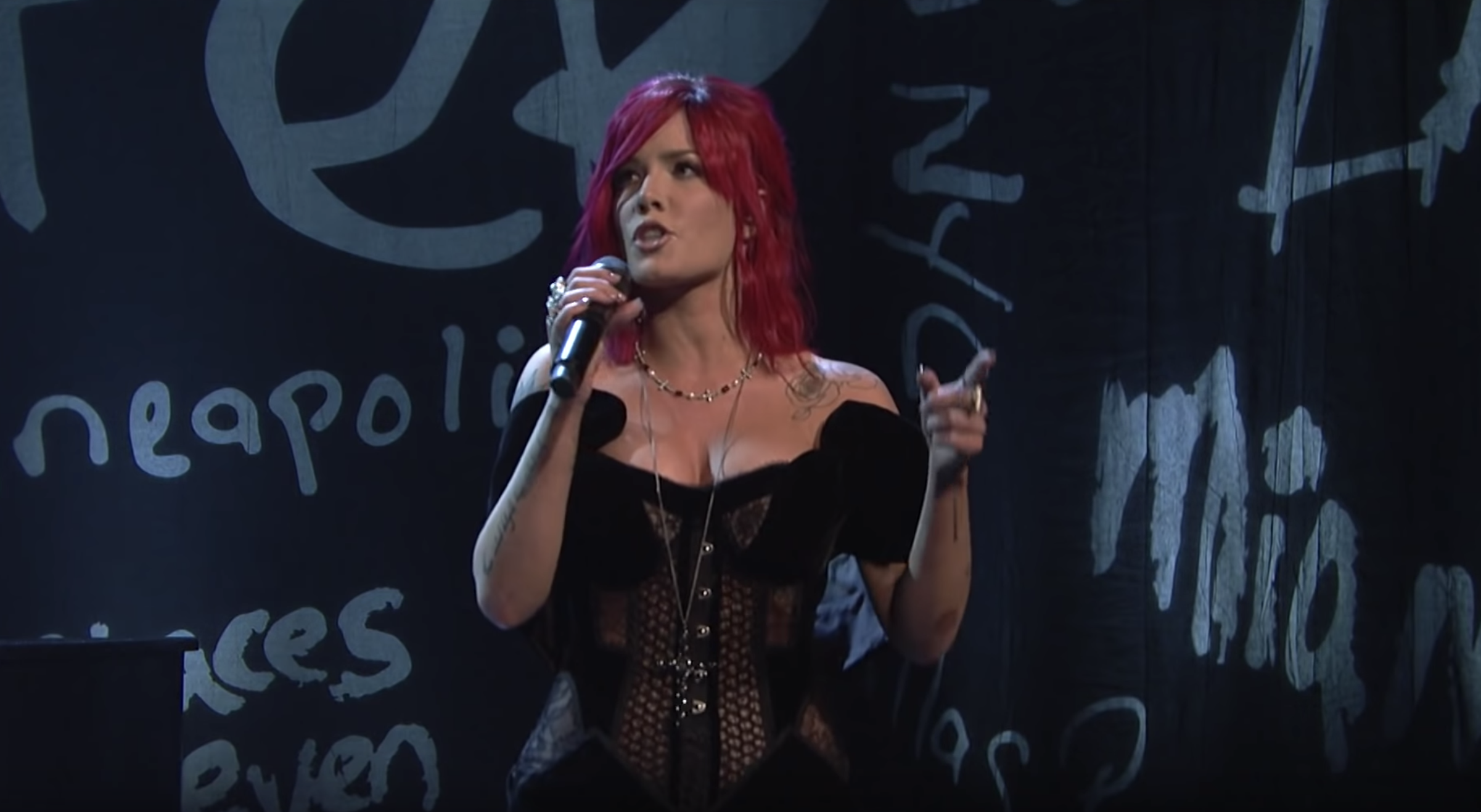 Watch Halsey Deliver Smoldering Power Ballad 'Without Me' on