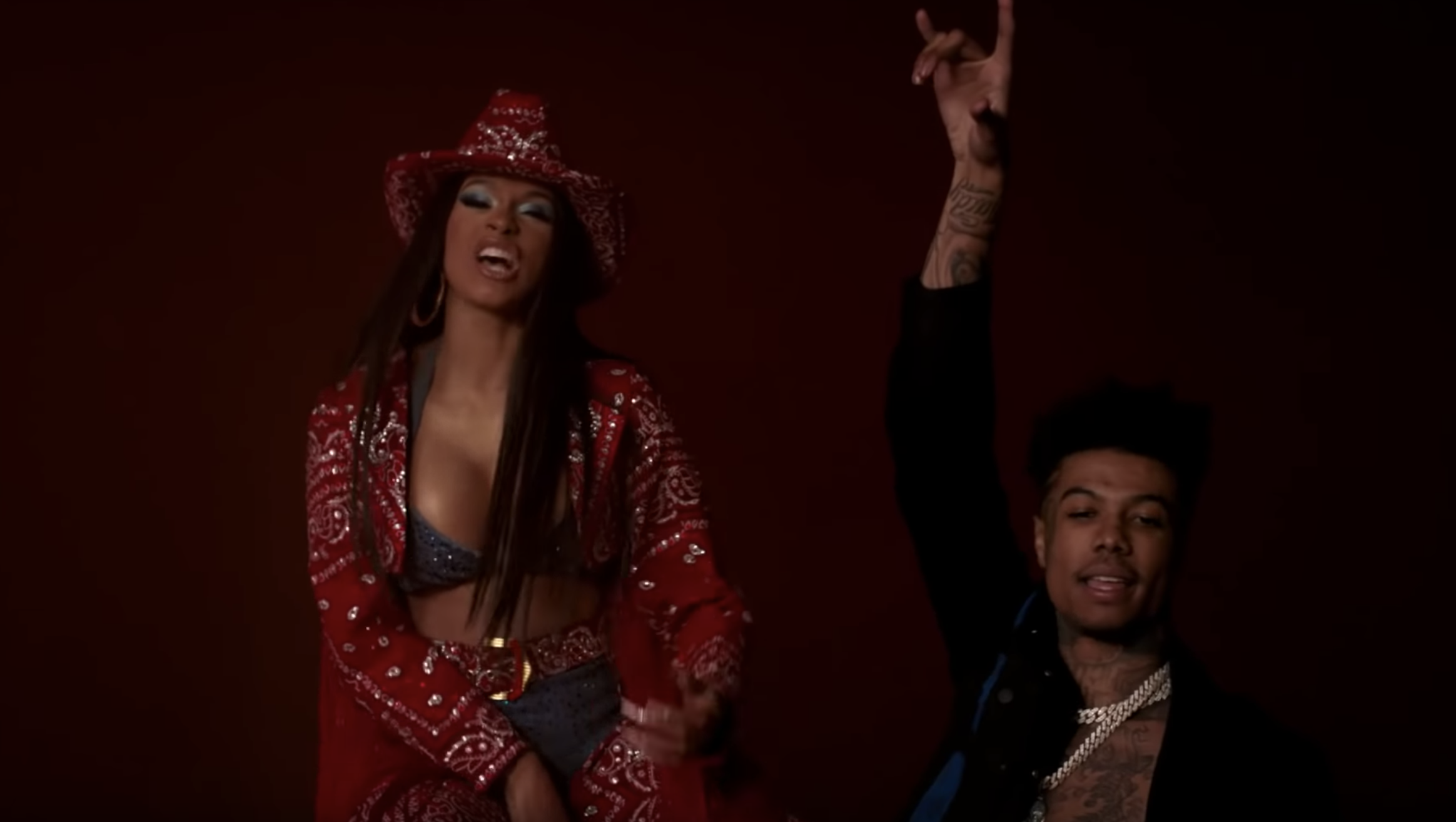 d2d4739aae0c Cardi B Takes Over  Thotiana  In Video for Blueface s New Remix – Rolling  Stone