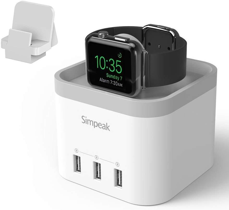 Simpeak 4 Port USB Charger Station