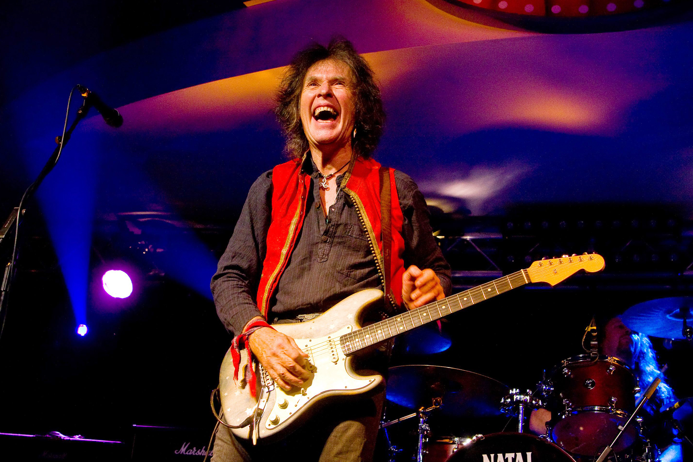 IMG BERNIE TORME, Irish Rock Guitarist, Singer, Songwriter
