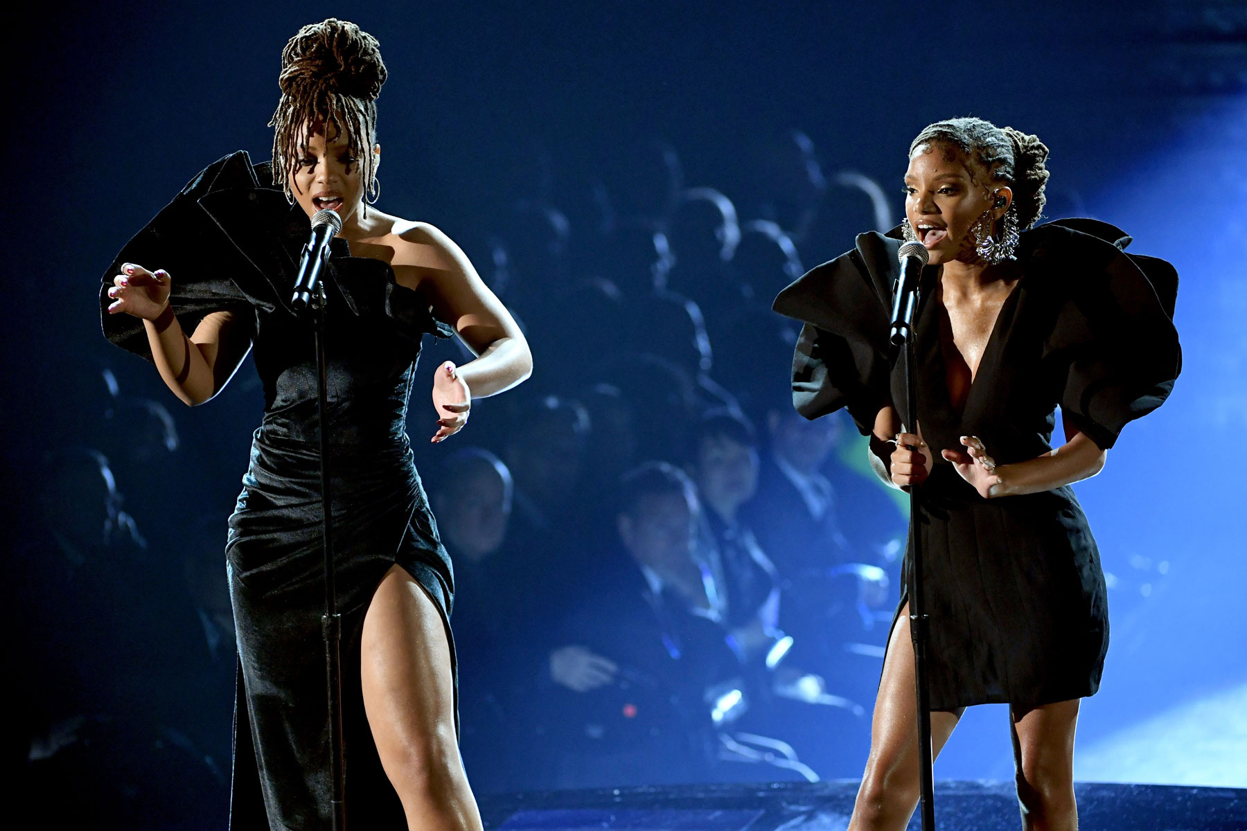 Grammys 2019: Chloe x Halle Pay Tribute to Donny Hathaway, Roberta Flack With 'Where Is the Love' Cover