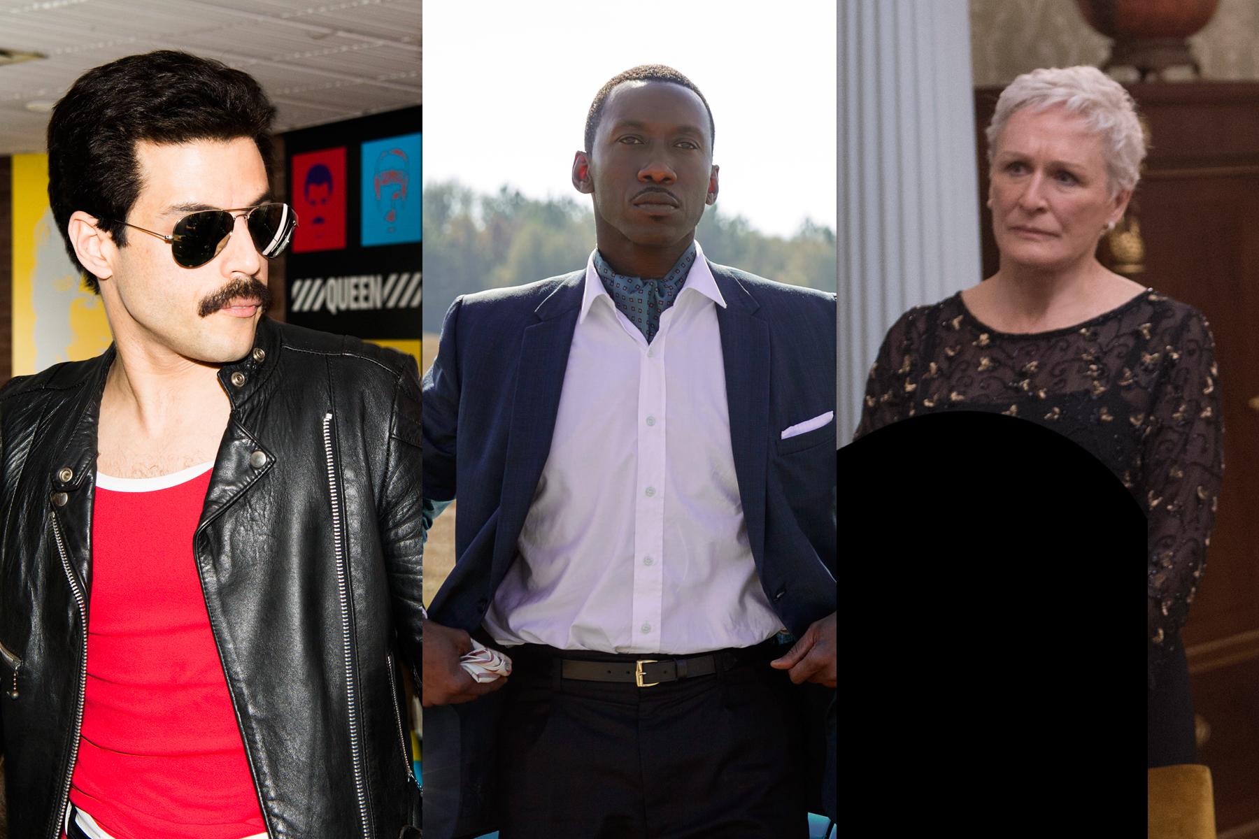Rami Malek Mahershala Ali And Glenn Close Each Predicted To Win Oscars At The 91st Academy Awards