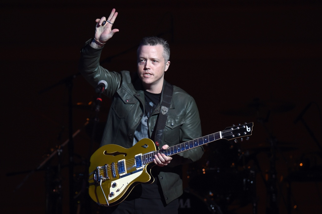 NEW YORK, NEW YORK - FEBRUARY 07: Jason Isbell performs on stage during 32nd Annual Tibet House US Benefit Concert & Gala at Carnegie Hall on February 07, 2019 in New York City. (Photo by Ilya S. Savenok/Getty Images for Tibet House)