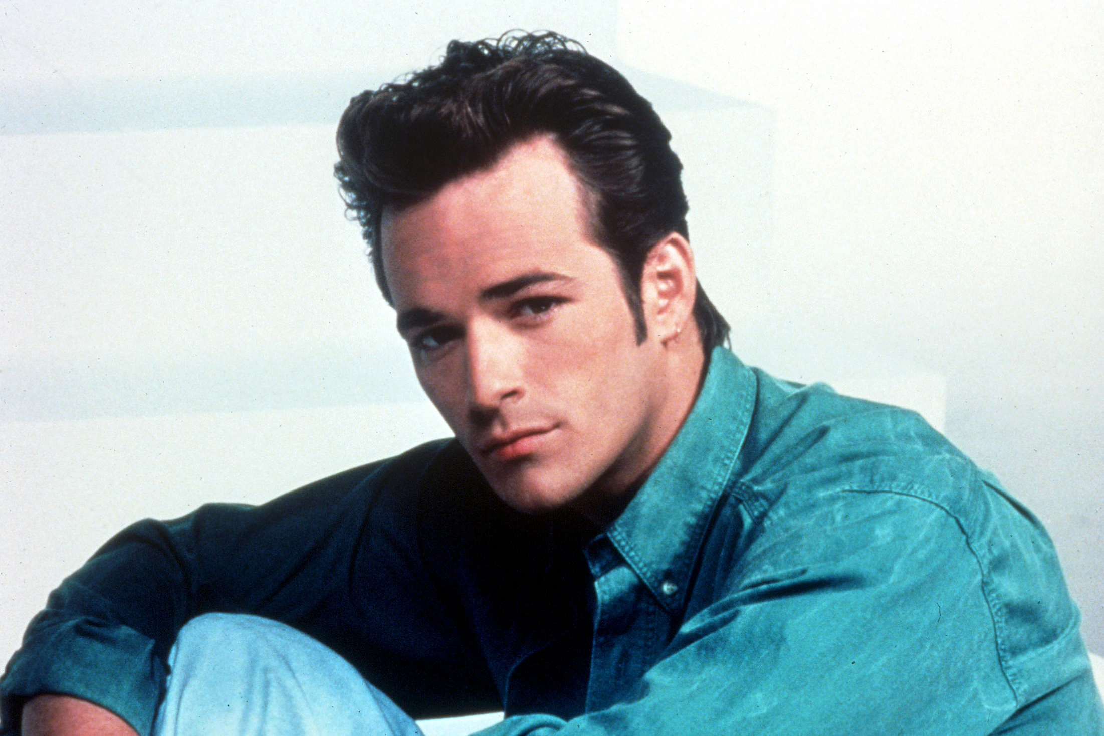 Luke Perry as Dylan McKay on Beverly Hills 90210
