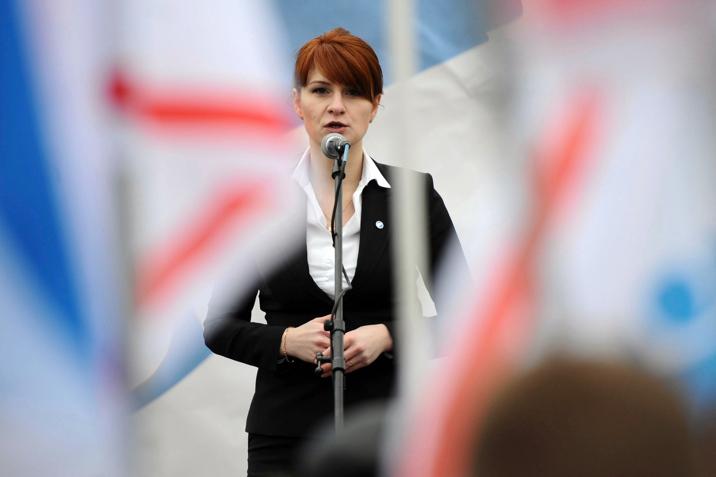 Maria Butina's Boyfriend Indicted on Money Laundering Charges