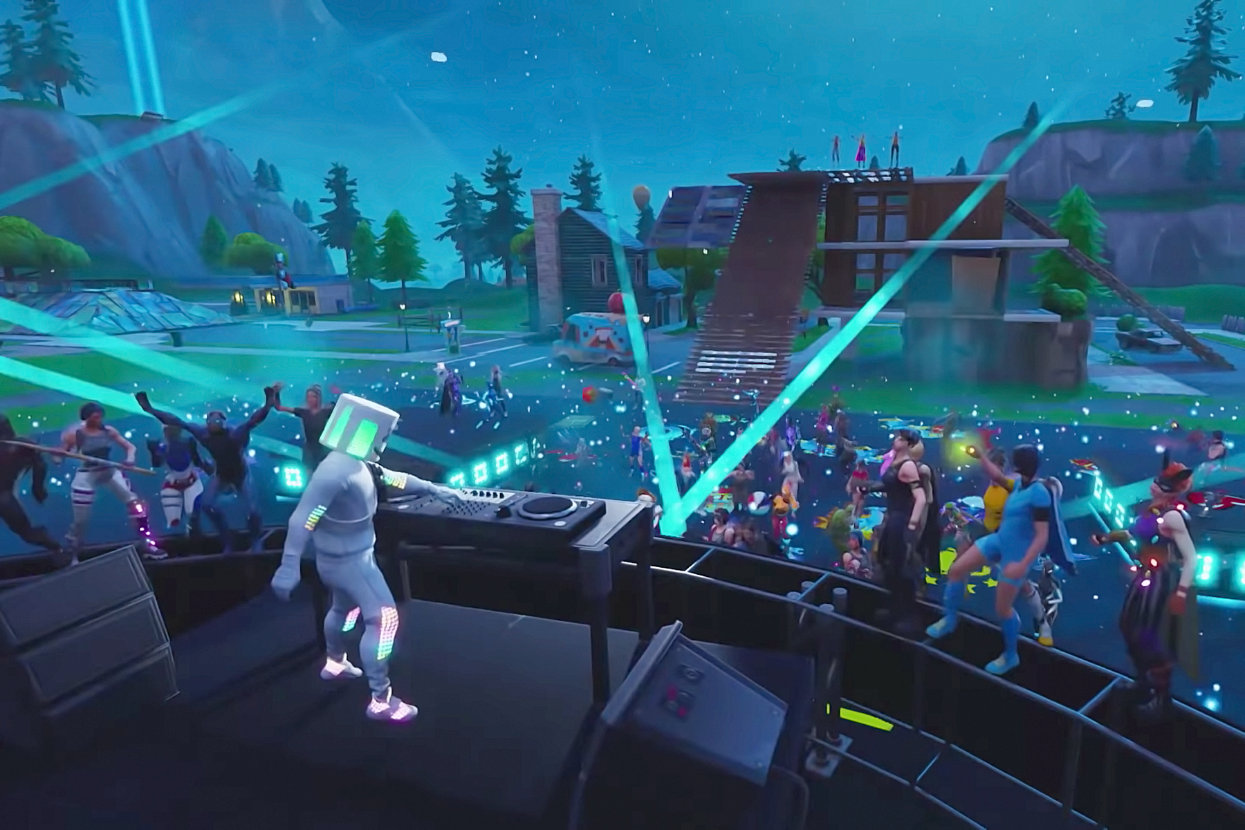 marshmello fortnite concert - how to see how many hours played on fortnite