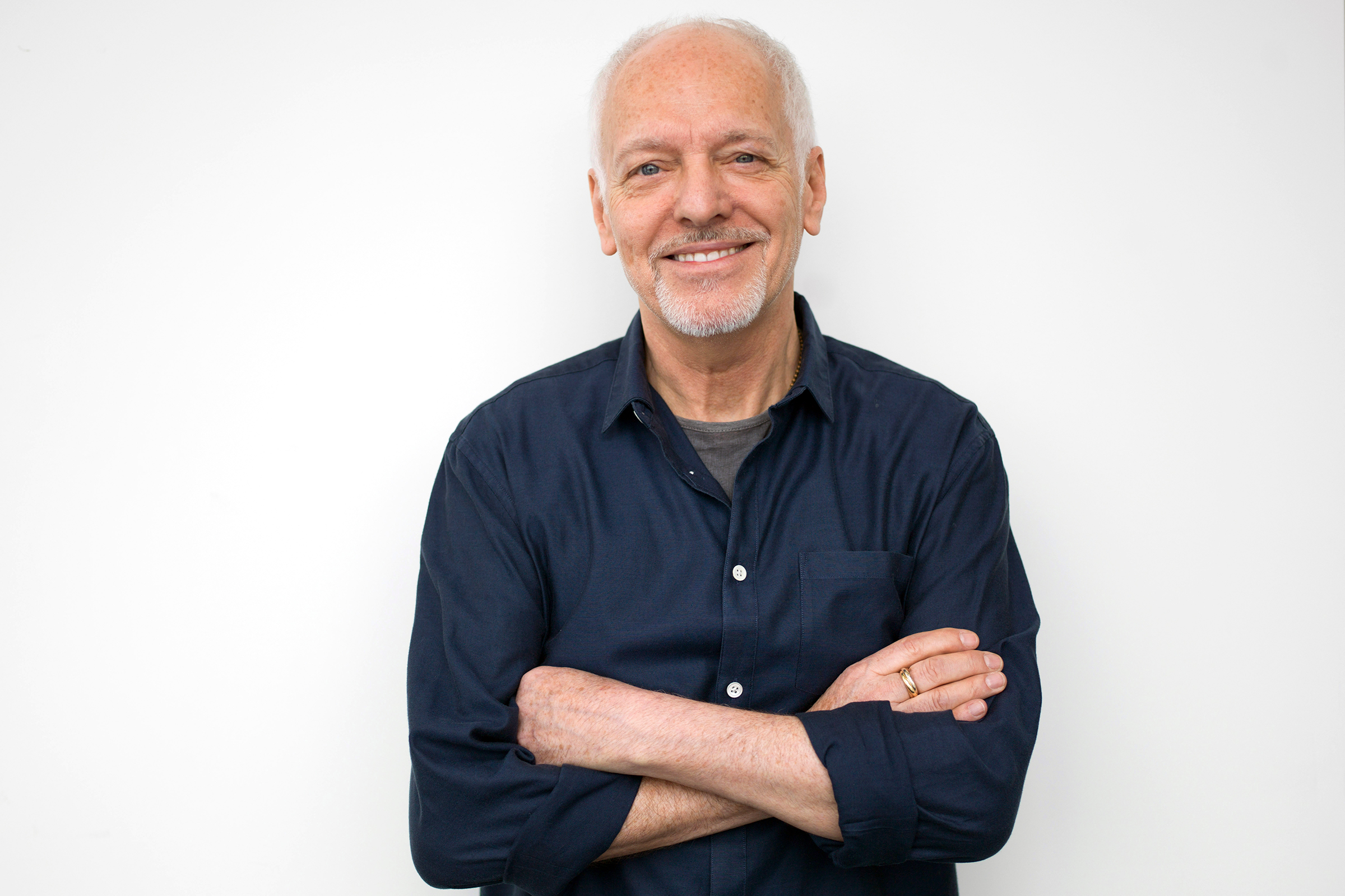 Musician Peter Frampton poses for a portrait in New York. The English-born Frampton, now 65, released, Acoustic Classics, a CD of stripped-down versions of his best-known songs, in FebruaryPeter Frampton Portrait Session, New York, USA - 25 Feb 2016