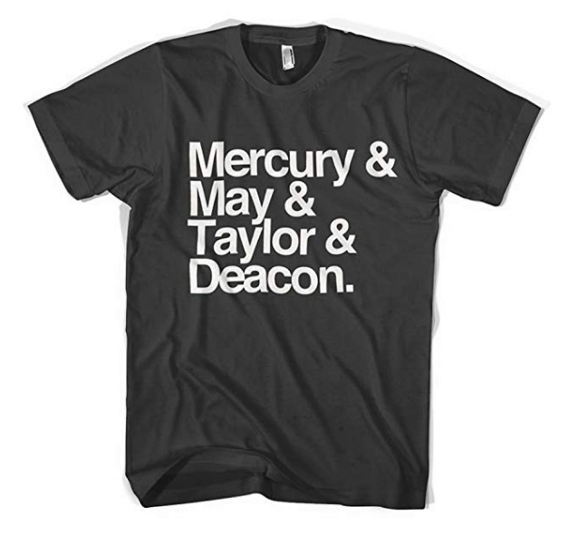 queen band name t-shirt