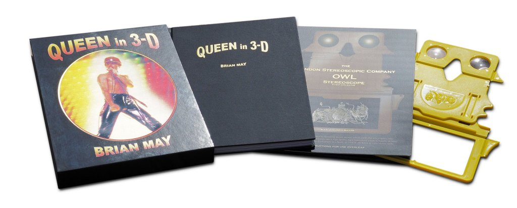 queen in 3D book brian may review