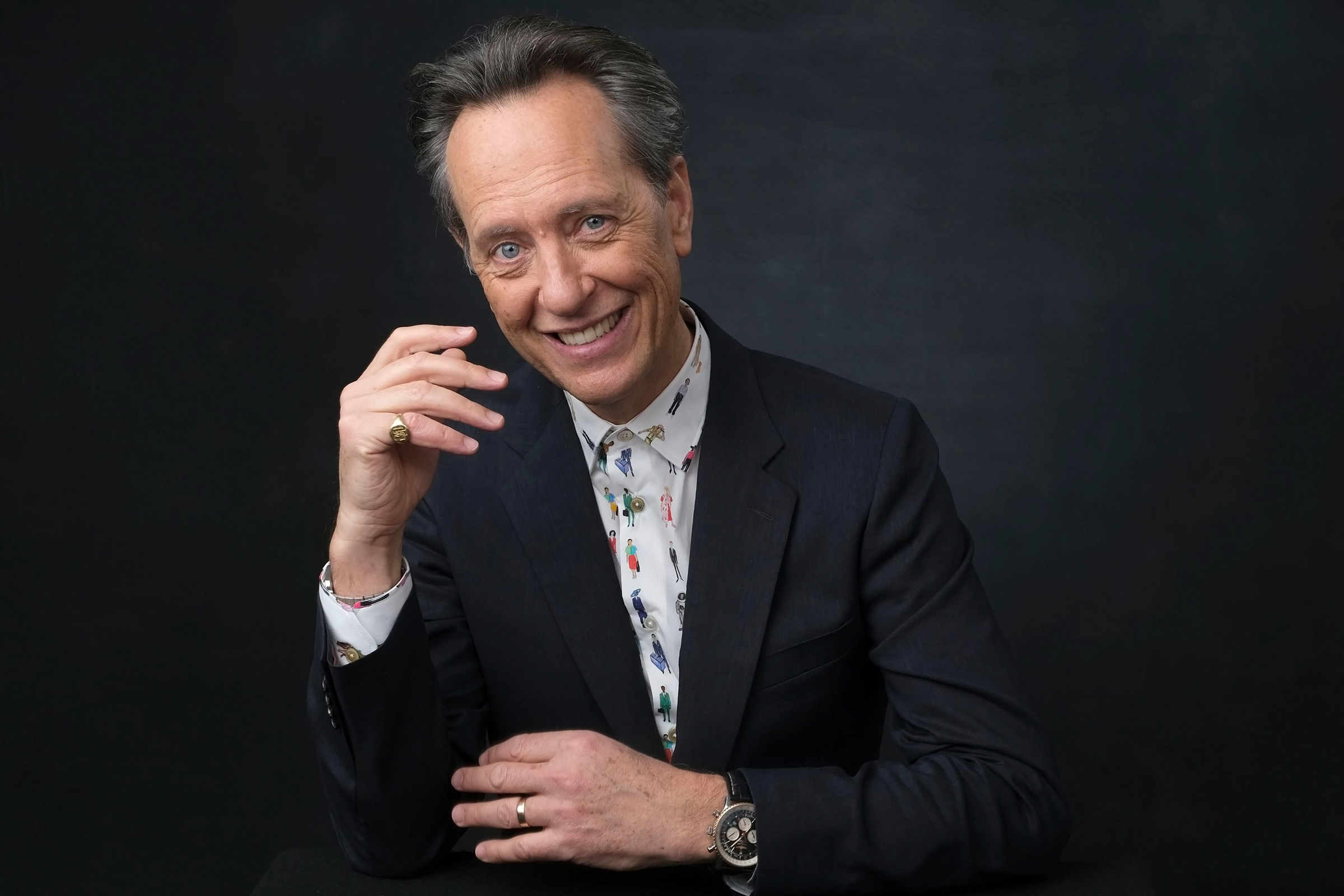 The 63-year old son of father (?) and mother(?) Richard E. Grant in 2021 photo. Richard E. Grant earned a  million dollar salary - leaving the net worth at  million in 2021