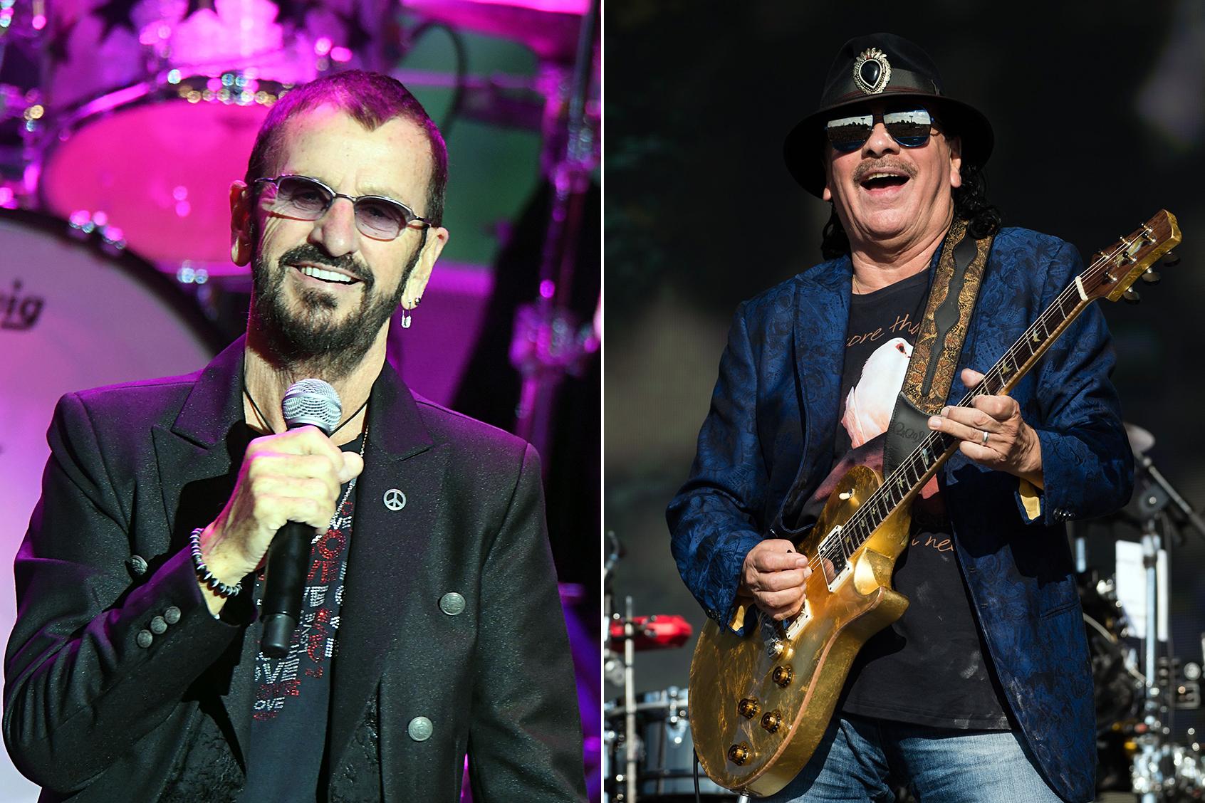 Ringo Starr, Santana Lead Bethel Woods' Woodstock