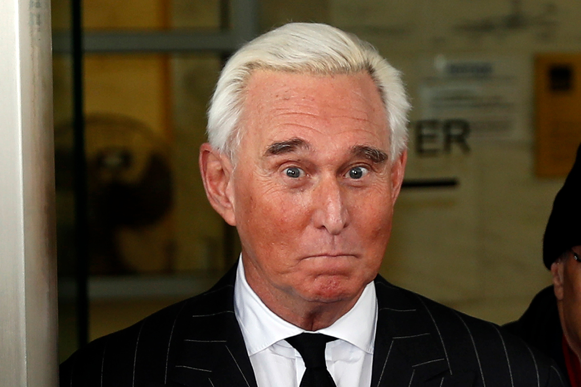 Roger Stone Shares a Photo of Judge With Crosshairs Near Her Head