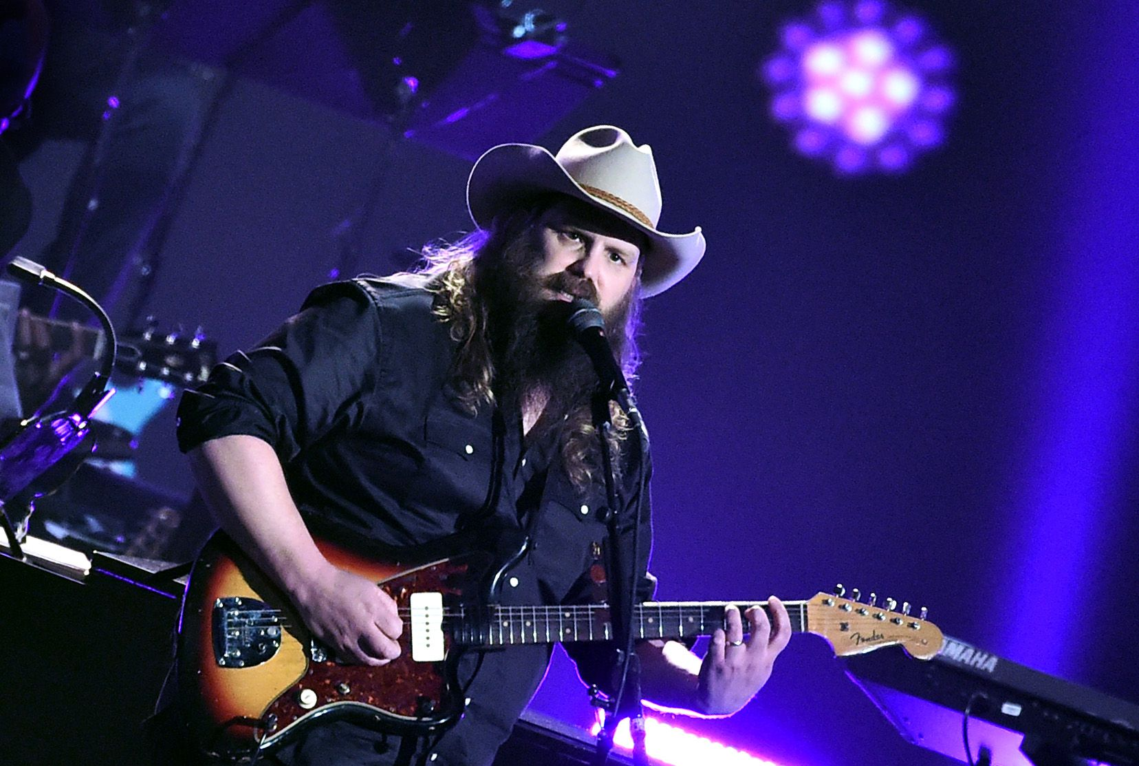 Chris Stapleton on Creating New Signature Fender Amp, Singing for Dolly Parton