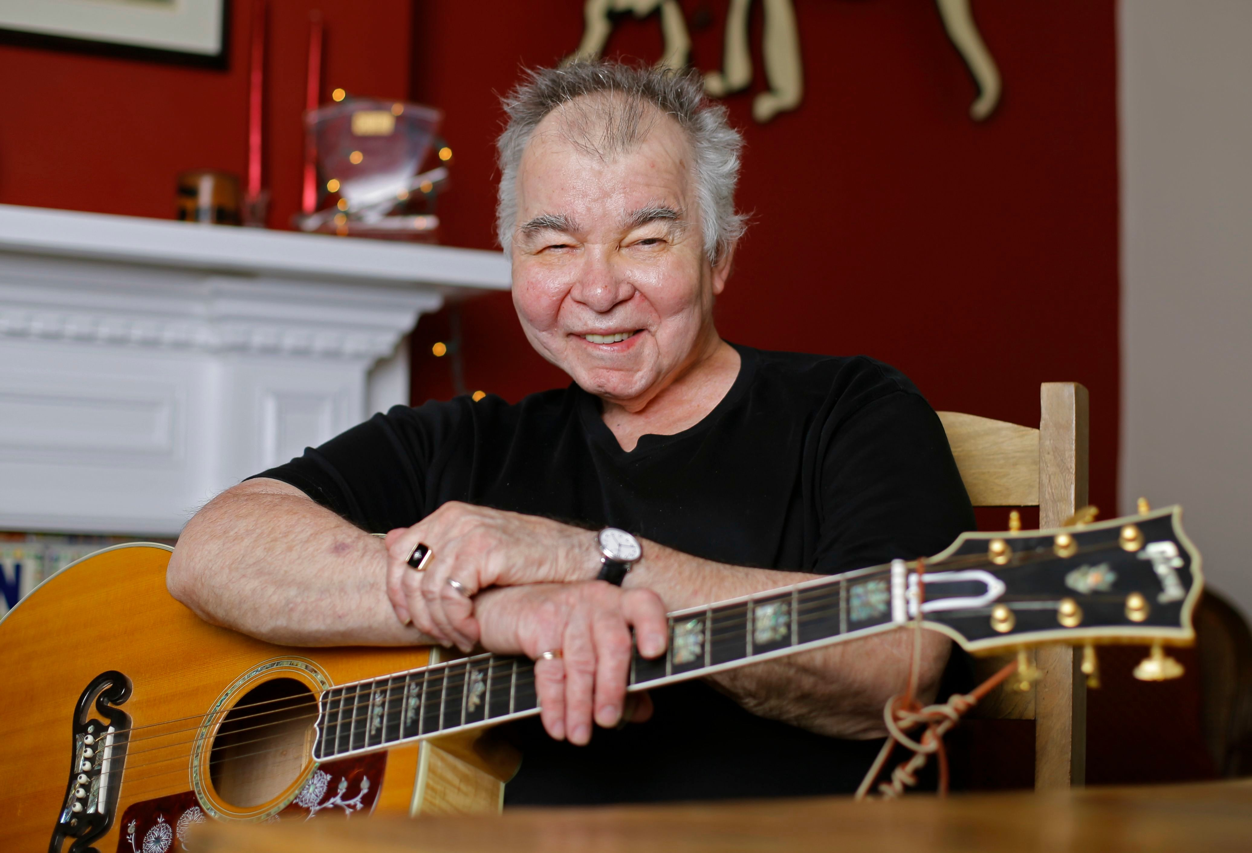 "John Prine poses in his office in Nashville, Tenn. The former Chicago mailman has become an affable songwriting guru for many of Nashville's talented young artists and his songbook, ""Beyond Words,"" released in April, features guitar chords, family photos, handwritten lyrics and witty stories alongside some of his best known songs, such as ""Sam StoneMusic John Prine, Nashville, USA - 20 Jun 2017"