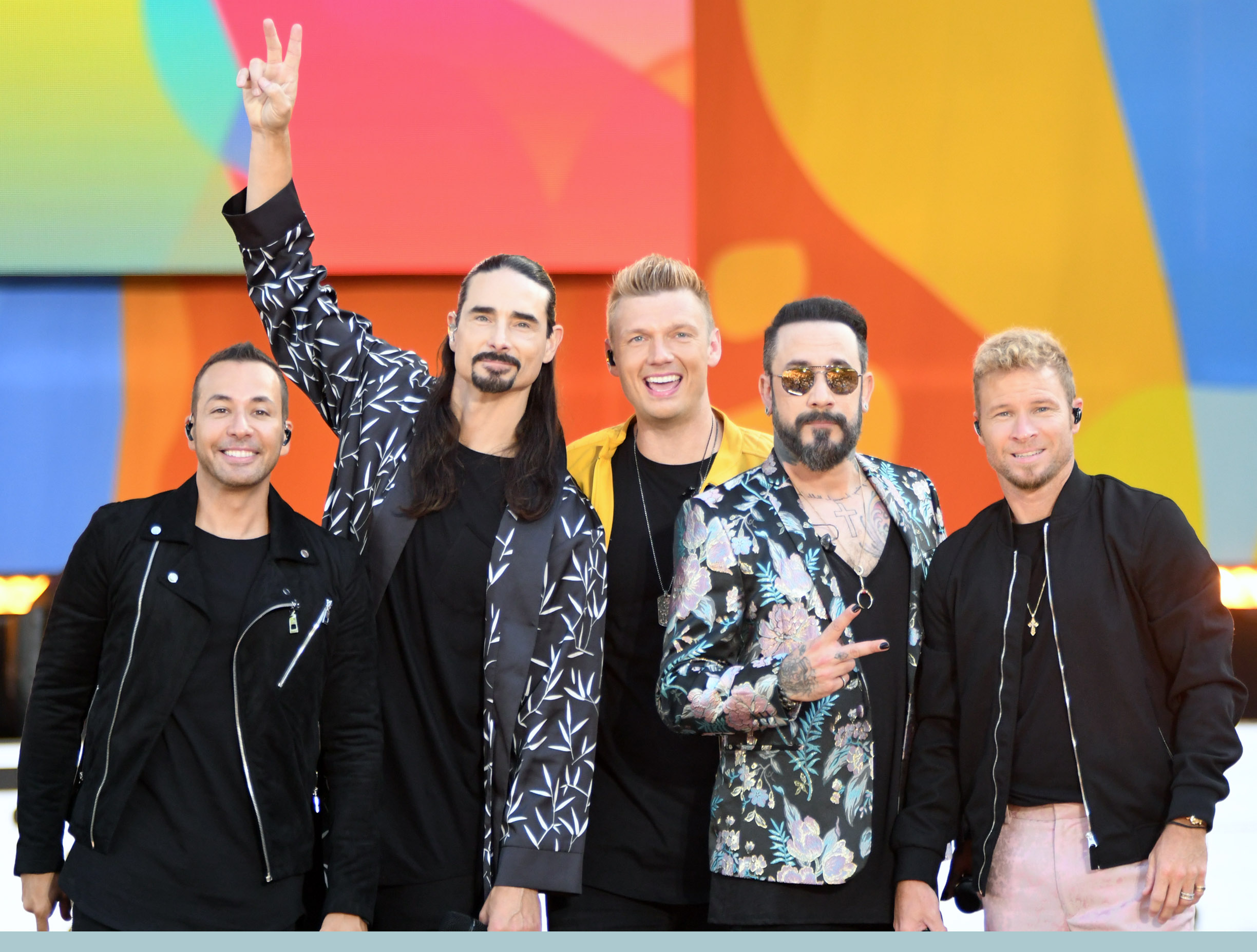 Backstreet Boys'Good Morning America' Summer Concert Series, New York, USA - 13 Jul 2018Backstreet Boys at the Good Morning America in New York City