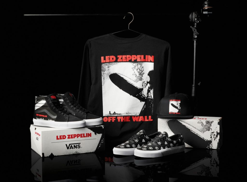vans led zeppelin collection