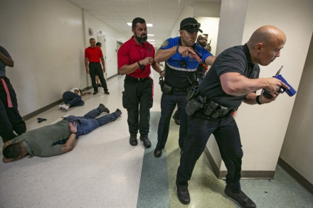 Active Shooter Drill Training Leaves Teachers Injured