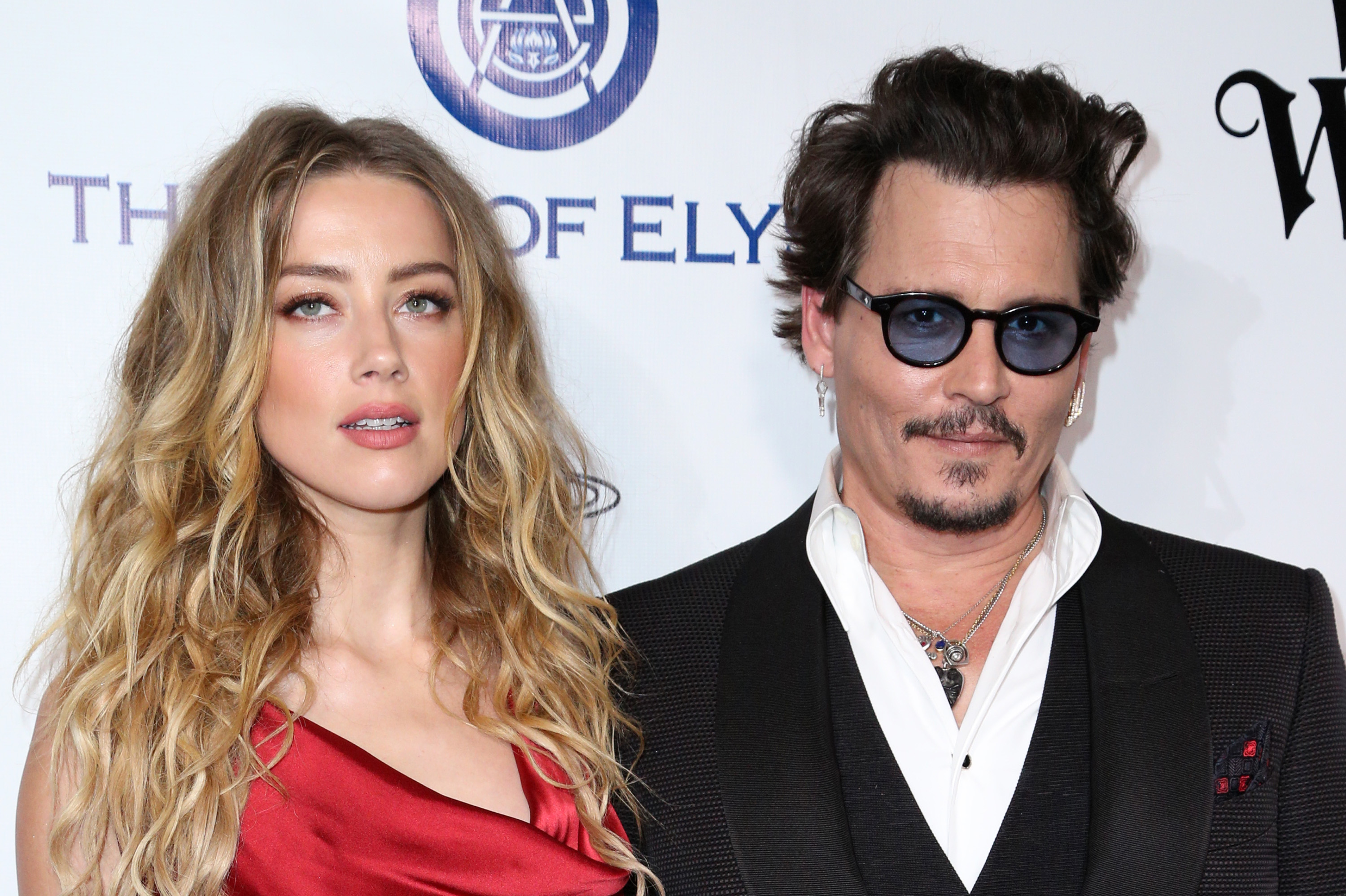 Amber Heard, left, and Johnny Depp arrive at The Art of Elysium's Ninth annual Heaven Gala at 3LABS, in Culver City, CalifThe Art of Elysium's Ninth Annual Heaven Gala, Culver City, USA