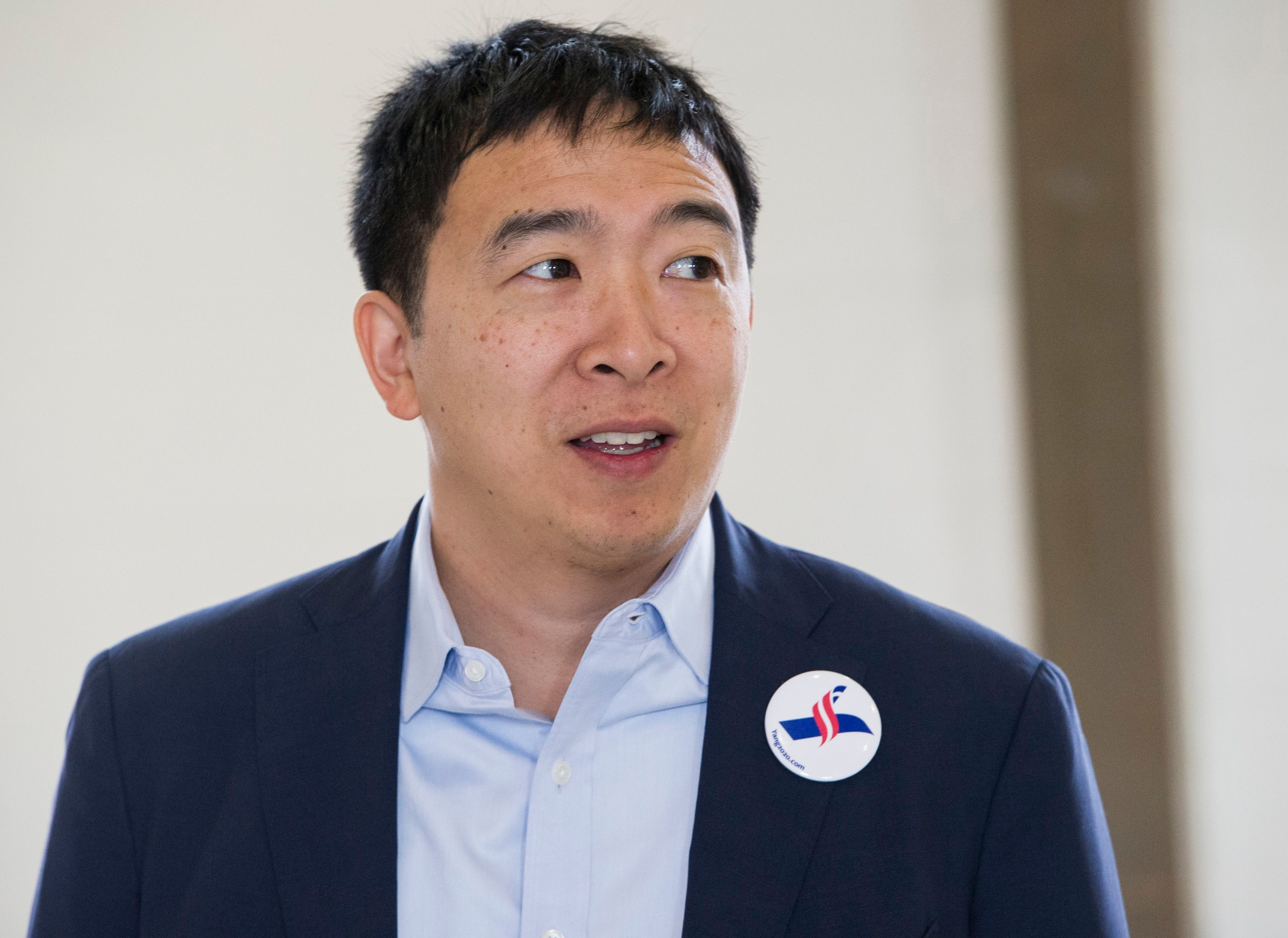 What Is Going on With Andrew Yang's Candidacy?