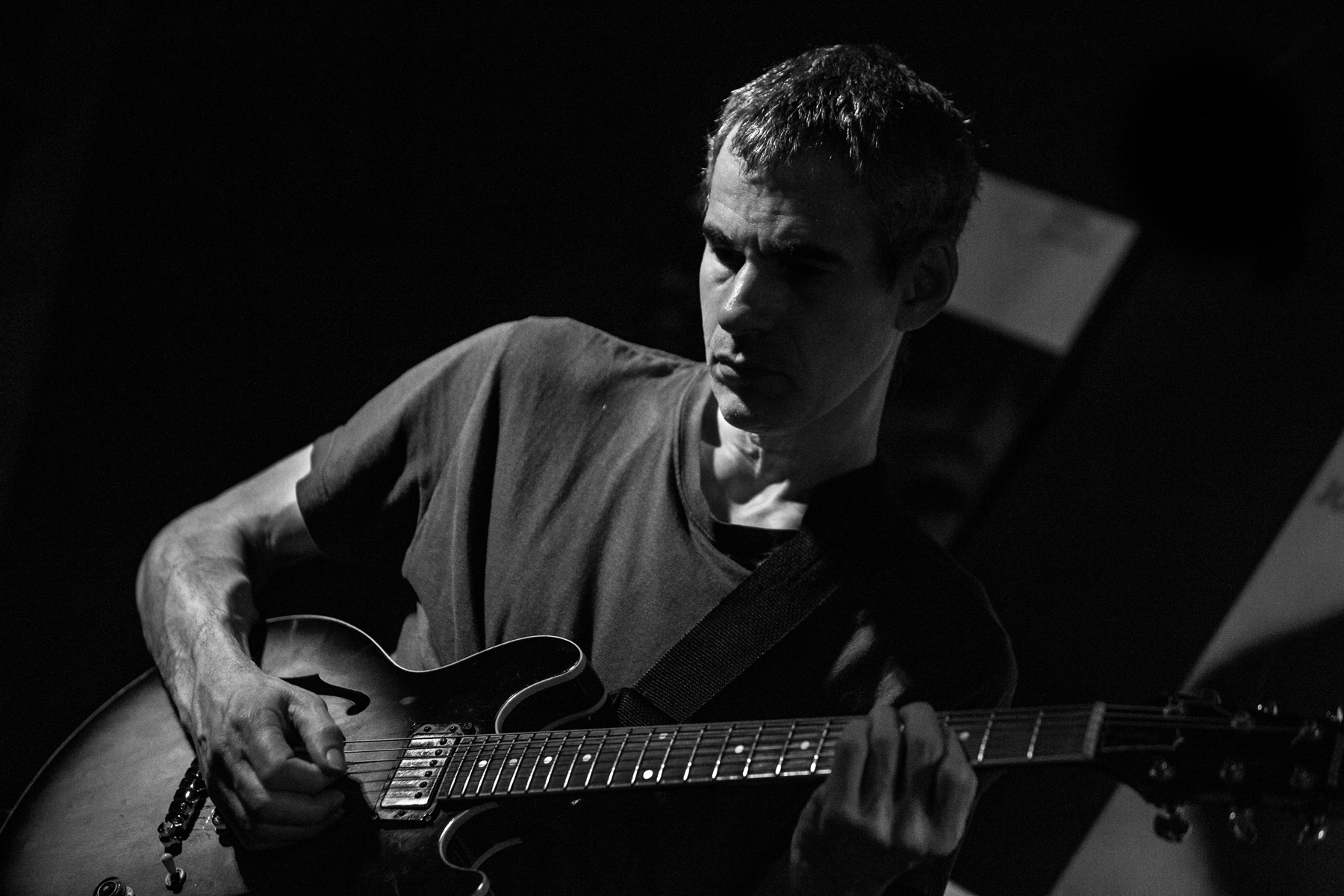 Hear 'Blackstar' Guitarist Ben Monder's Doomy Take on 'Goldfinger' Theme
