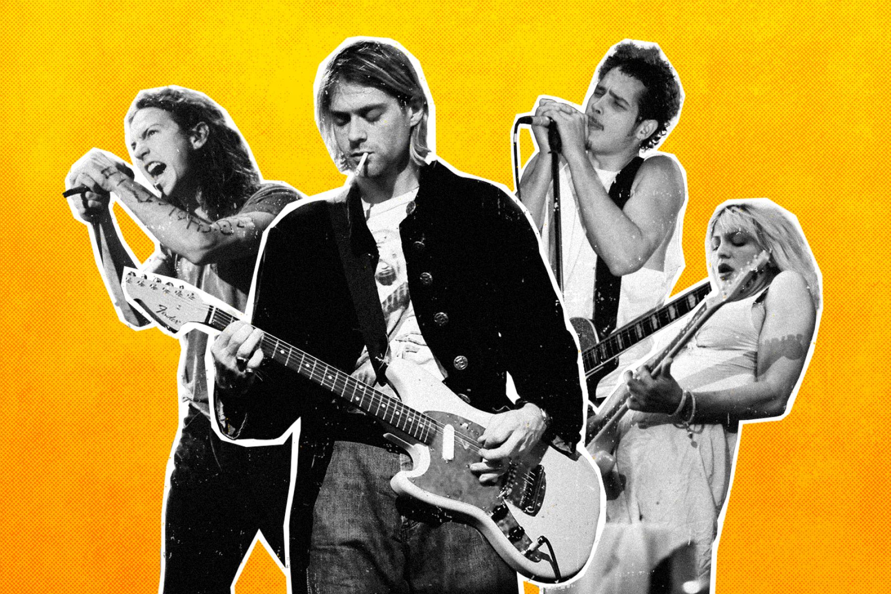 Nirvana Pearl Jam Soundgarden 50 Best Grunge Albums Rolling Stone
