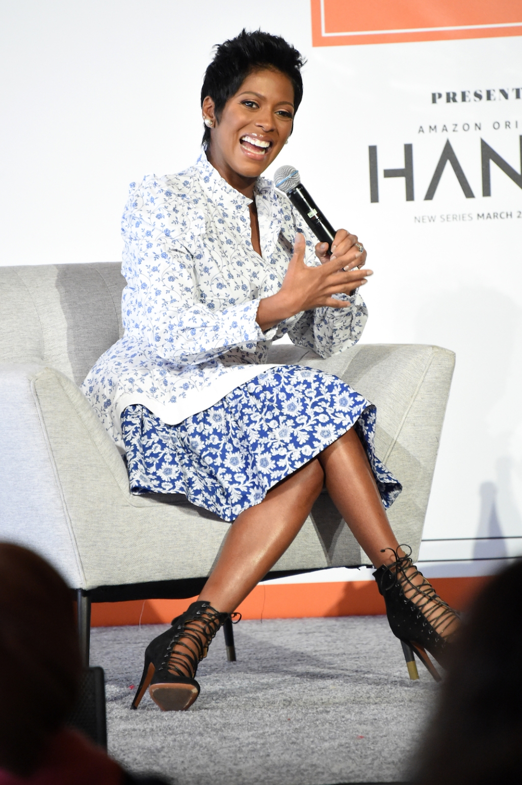 TV host Tamron Hall dives deep into her personal experience as an African American female in television.