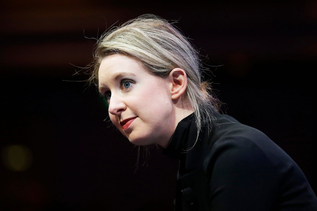 Elizabeth Holmes Elizabeth Holmes, founder and CEO of Theranos, 2015.