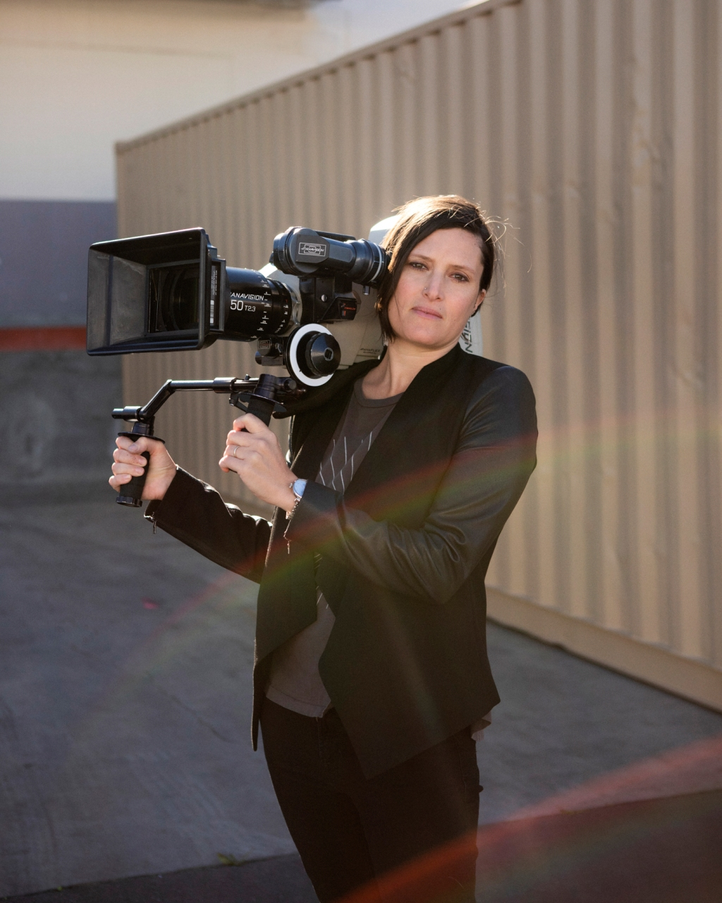 The cinematographer is the first woman in her field ever nominated for an Oscar — and she's just getting started. Read the story