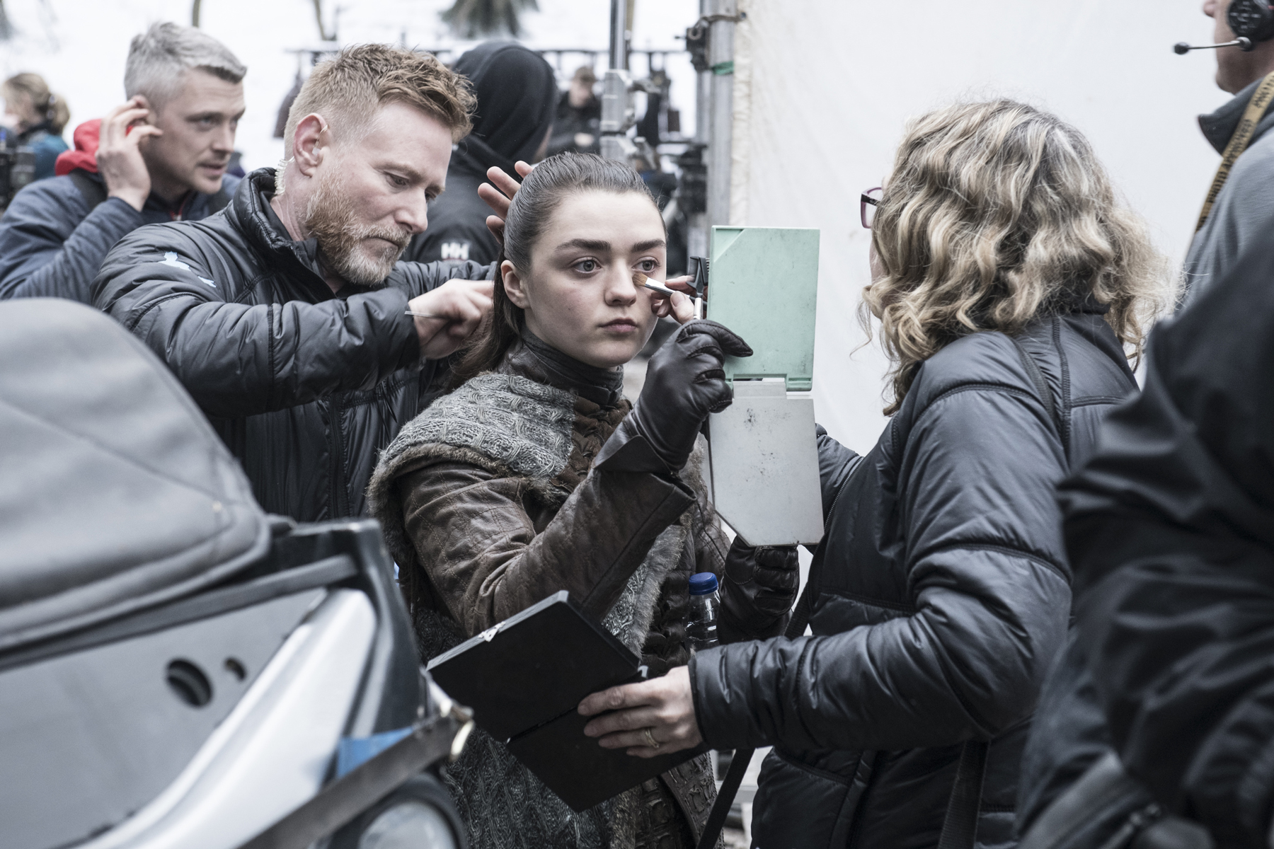 Sophie Turner, Maisie Williams on Game of Thrones Finale