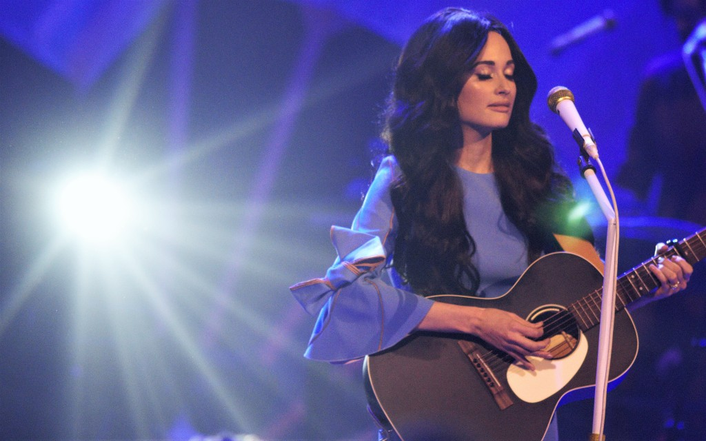 Kacey Musgraves performed four sold-out shows at Nashville's Ryman Auditorium.