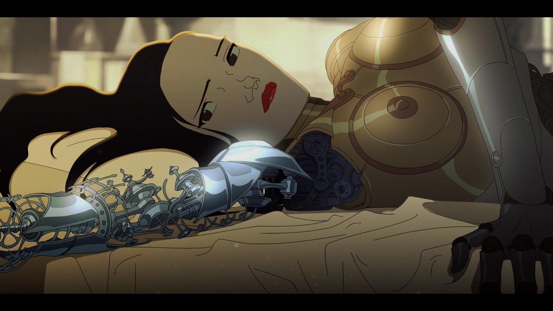 anime robot porno