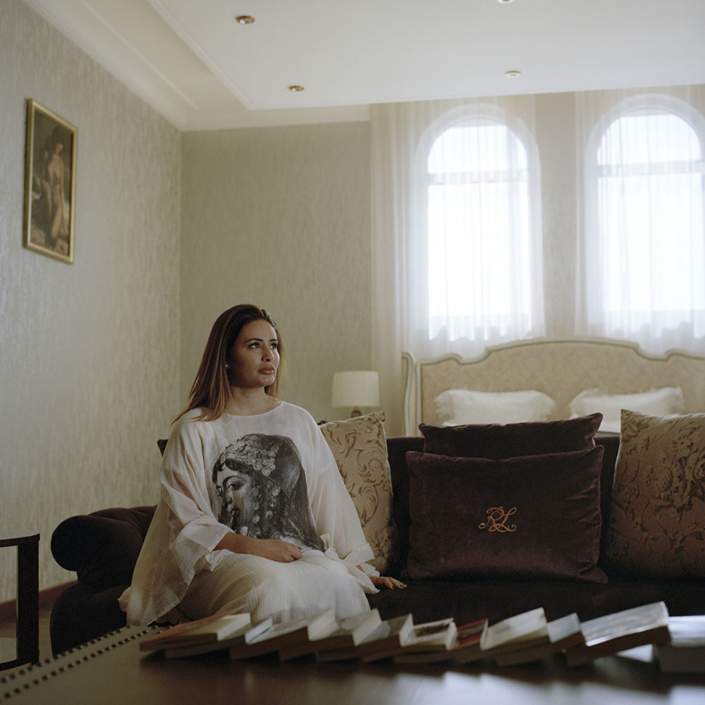 Photographer Maha Alasaker began making environmental portraits of Kuwaiti women in their homes in Kuwait in the most intimate space, their bedroom, which offer an unprecedented glimpse into these women's private, more authentic lives. Women in Kuwait brings together 25 portraits from the series accompanied by excerpts from interviews with the subjects conducted by Alasaker's creative partner, Nada Faris, a Kuwaiti writer and performance poet. The women featured in the book highlight the diversity of Kuwaiti women's professional ambitions: a chef, a journalist, an orthodondist, a senior executive, a financial researcher, an economist, a stylist and a veterinarian. Here, a selection from the book of photographs. 44 married master lifecoach English literature , (2018)