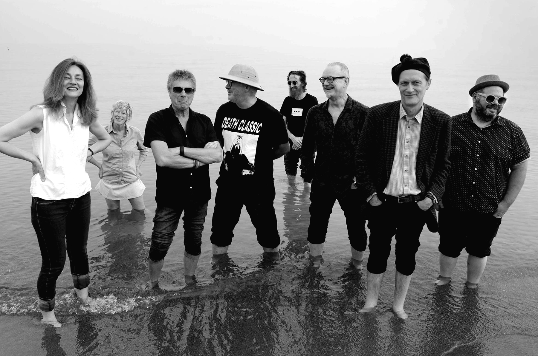 Review: The Mekons Reboot Their Anglo-American Punk-Country-Dub on 'Deserted'