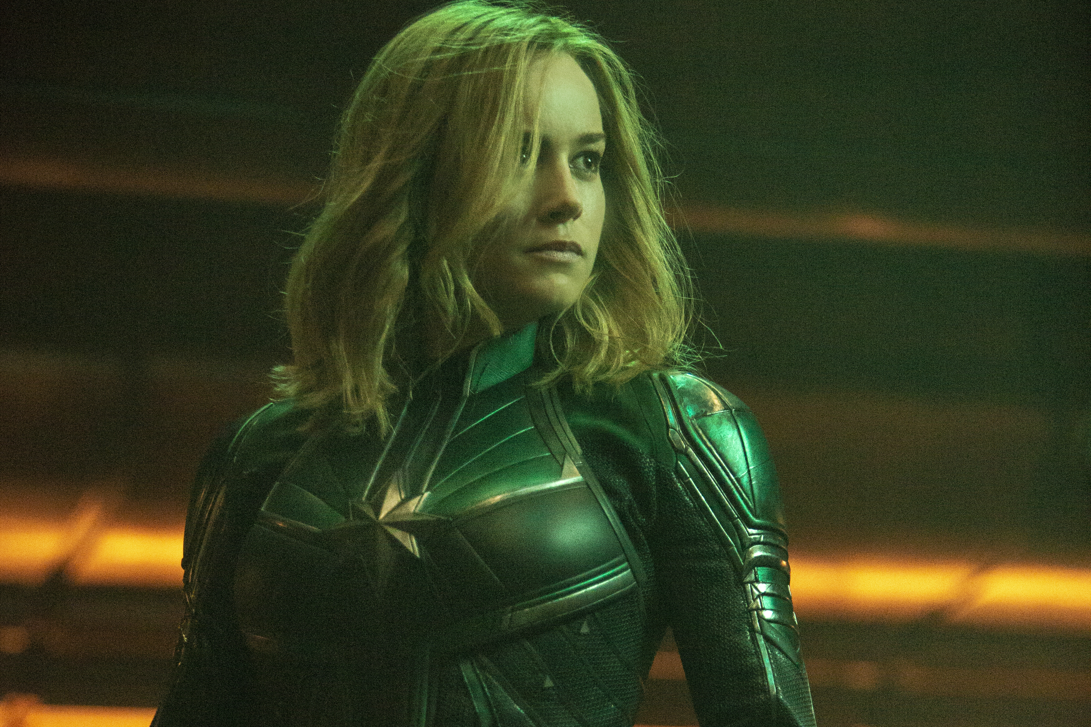 Captain Marvel Brie Larson Takes On Bad Guys Trolls And Wins