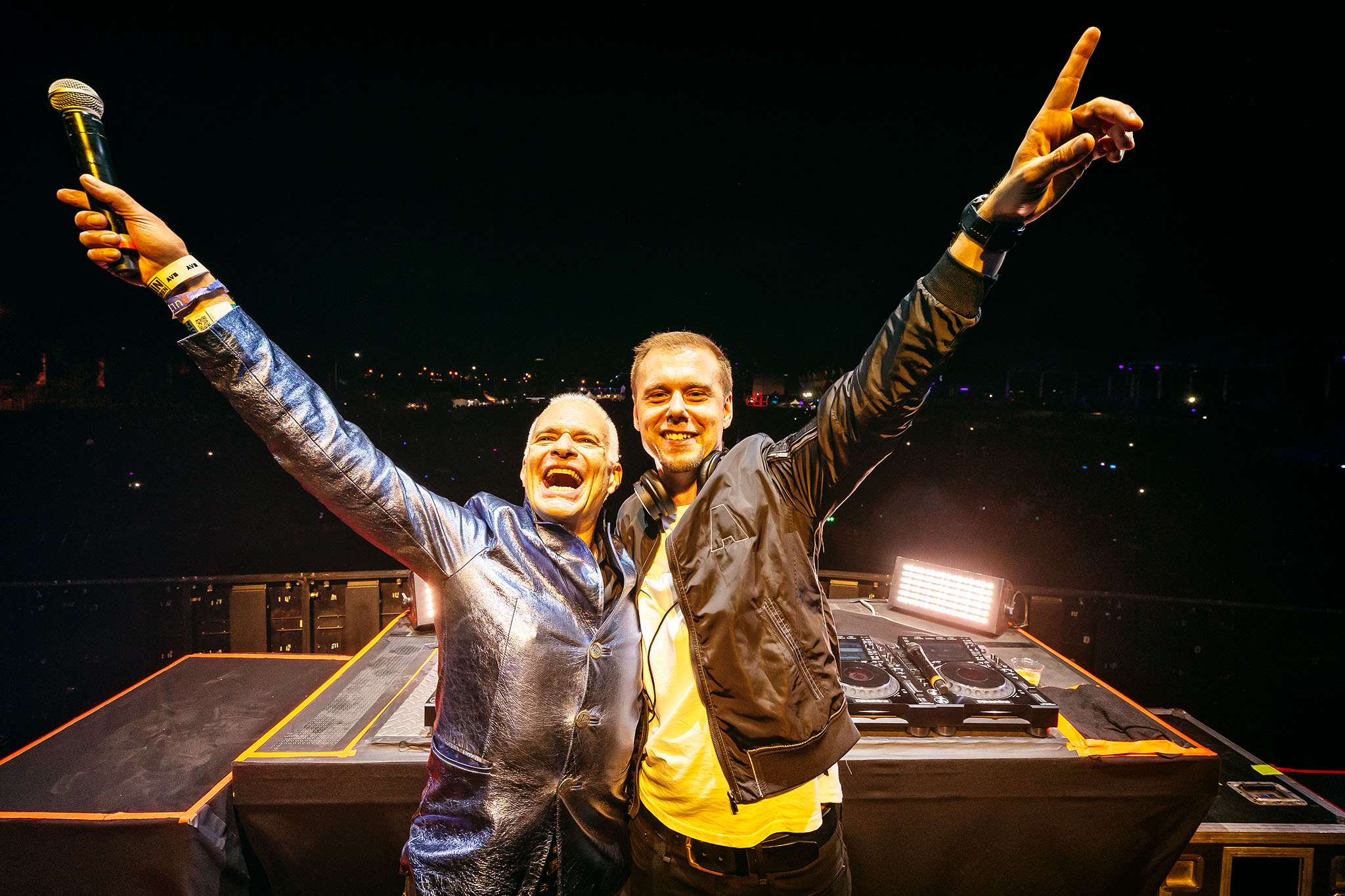 David Lee Roth and Armin Van Buuren on Why They Remixed 'Jump