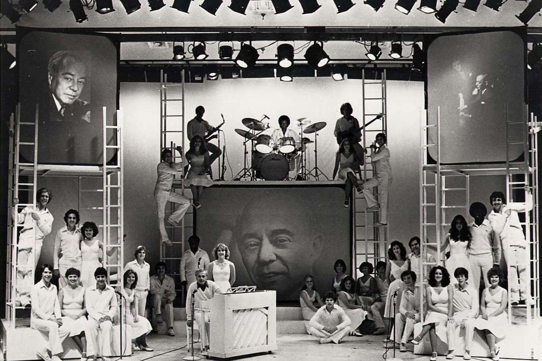 The Young Americans paying tribute to Richard Rodgers in the late Seventies