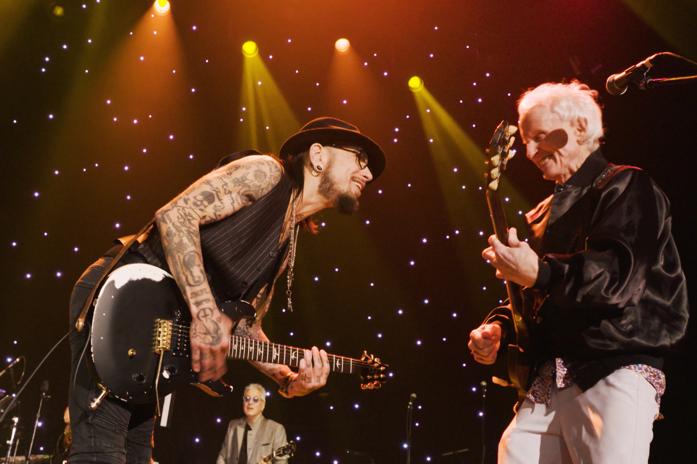 See Robby Krieger, Dave Navarro, Orianthi Play Sultry 'Back Door Man'